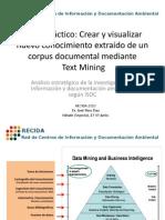 Análisis estratégico de la investigación en Información y documentación ambiental, según ISOC