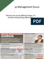 India's Top Management Gurus