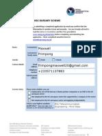 Phase 1 Bursary Application Form