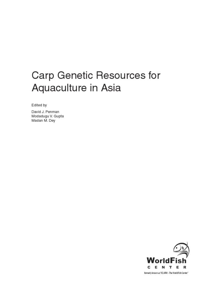 Carp Genetics | Aquaculture | Edible Fish