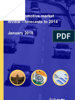 India Automotive Market Review Forecast 2014