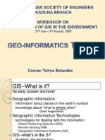 Why Geoinformatics