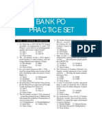Bank Officer Exam Practice Set
