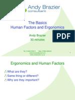 Basics HF + Ergonomics