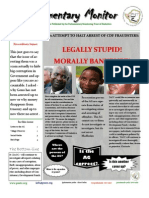 Parliamentary Monitor- 14 March 2012
