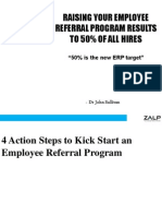 Four Action Steps to Kickstart Your Employee Referral Program