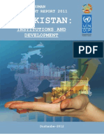 Tajikistan national human development report 2011