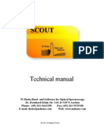 scout technical manual