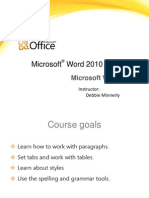 Ms Word Note