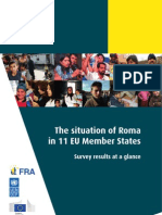 The situation of Roma in 11 EU Member States