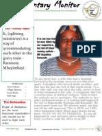 Parliamentary Monitor- 13 June 2012