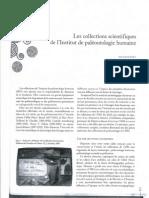 Les Collections Scientifiques de l'IPH