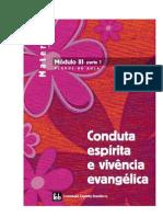 Apostila FEB Maternal – Módulo III – parte 1– Conduta espirita e vivência evangélica