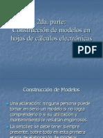 Construcción de Modelos en hojas de cálculo