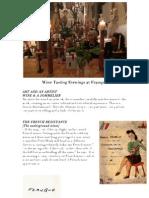 Wine Tasting Themes at Franque