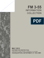 FM 3-55 Information Collection (2013) uploaded by Richard J. Campbell