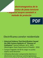 Poluarea Electromagnetica de La Retelele Electrice de Joasa Tensiune