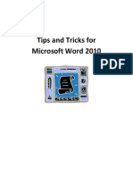 Word 2010 Tips and Tricks