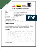 Resume Mkyazdani