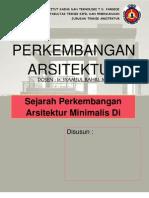 Perkembangan Style Minimalis Dalam Arsitektur