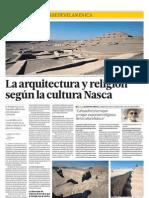La arquitectura y religión de la cultura Nasca