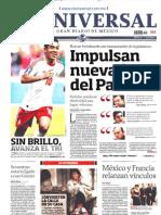 Portadas de Diarios en Mexico Lunes 15 de Julio Del 2013