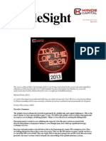 HindeSight Investor Letter June 2013 - Top of the BoPs