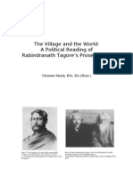 Tagore  Village and World