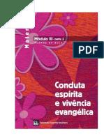 Apostila FEB Maternal – Módulo III – parte 2 – Conduta espirita e vivência evangélica