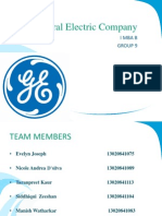 General Electrics Imba b Group Mmi
