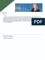 Criminal Complaint Filed With Pam Bondi, AG of FL