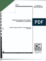 NORMA ISO 9000 2005 Fundamentos y Vocabulario 01