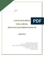 Plan Salud Mental Ssms 2008-2010