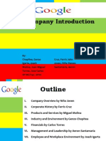 Introduction to Google