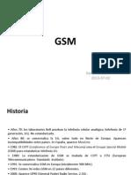 Clase Gsm 2013