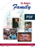 St. Peter's Family Magazine - June 2013