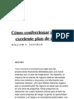 Como Confeccionar Un Excelente Plan de Negocios
