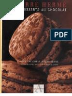Pierre Herme-Mes Desserts Aux Chocolats 6Mo.248.Pages