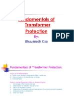 Fundamentals of Transformer Protection