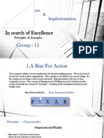 """Learnings form """"In search of Excellence:"""