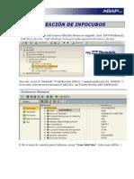 BW - Creacion de Infocubos
