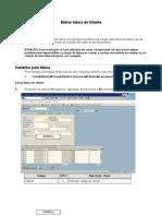 FB70 - Entrar Fatura de Cliente