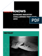 BBDO KNOWS Banking Industry Challenges Part Two