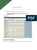 FBL1N - Relatório de partidas individuais de fornecedores