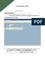 FK01, FK02 e FK03 - Criar, Modificar e Exibir Fornecedor