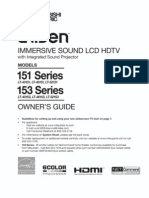 Owner Manual Mitusbishi LT40153
