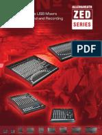 Allen & Heath - Mixwizard - ZED Brochure AP7205 4