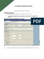 FBL5N - Relatório de partidas individuais de clientes