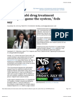 Sandy Annabi drug treatment 'attempt to game the system,' feds say