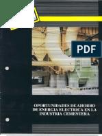 Recomendaciones para el  ahorro de energía eléctrica en la Industria Cementera